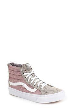 VANS 'Sk8-Hi Slim' High Top Sneaker (Women). #vans #shoes #