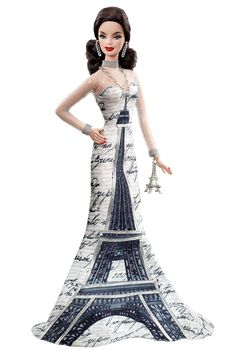 Eiffel Tower Barbie