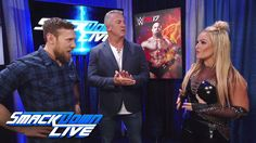 Shane McMahon and Daniel Bryan just named Natalya the OFFICIAL WWE SmackDown Live Live Women's Coach at Survivor Series!