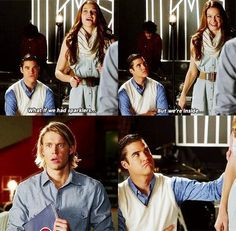 Marley & Blaine XD... Their expressions are priceless