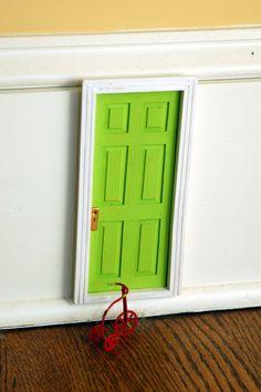 Fairy Door on Baseboard... yes!!