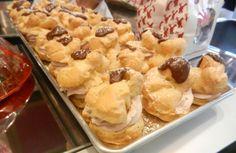 Chocolate Mousse Cream Puffs