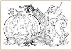 Malvorlagen Herbst Eichhörnchen My Blog