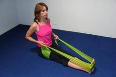 upper back exercise with stretch band good posture exercises. upper back exercise with stretch band Perfect Posture, Good Posture, Improve Posture, Kyphosis Exercises, Posture Exercises, Upper Back Exercises, Exercise Images, Rowing Workout, Upper Back Pain