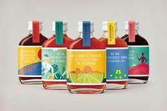 Elderbrook Drinks — The Dieline - Branding & Packaging Design Juice Packaging, Beverage Packaging, Bottle Packaging, Brand Packaging, Food Packaging Design, Packaging Design Inspiration, Branding Design, Kombucha, Innocent Drinks