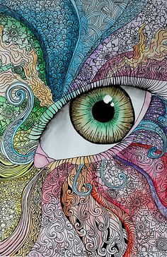 rainbow zentangle - Google Search