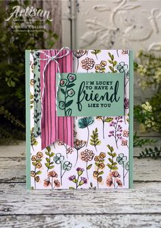 Stampin' Up! Stampin Up Catalog, Stamping Up, Rubber Stamping, Friendship Cards, Scrapbook Cards, Scrapbooking, Cards For Friends, Card Sketches, Love Cards
