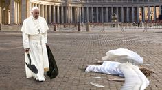 Pope Cleans Up Dead Angel Who Flew Into Sistine Chapel Window - The Onion - America's Finest News Source
