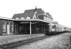 Station Simpelveld perronzijde, hier heb ik jarenlang richting Sittard en soms richting Aken gereisd