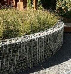 gabion design ideas gardendrum design carl pickens ellerslie nz 2009 gabions filled with graywacke pebbles