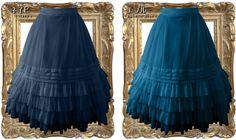 Juliette et Justine - underskirt - juliette blue