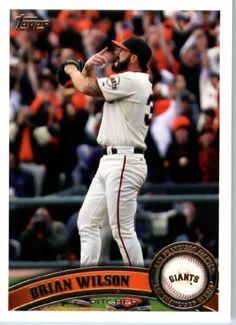 2011 Topps Baseball Card #210 Brian Wilson - San Francisco Giants - MLB Trading Card In A Protective Screwdown Case by Topps. $2.25. 2011 Topps Baseball Card #210 Brian Wilson - San Francisco Giants - MLB Trading Card In A Protective Screwdown Case
