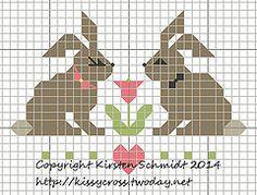 Bunnies in love by kissy2169, via Flickr