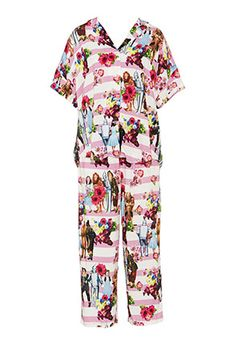 Image for Wizard Of Oz Pink Poppy Pj Set from Peter Alexander