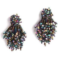 Mignonne Gavigan Burst Beaded Statement Earrings