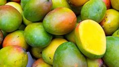 Mango - Not only are mangoes delicious, they're also loaded with health benefits, including the ability to prevent cancer, lower cholesterol, clear skin and alkalize the body. Packed with vitamin C and vitamin A, plus 25 different kinds of carotenoids, these super fruits will keep you summer-ready, and healthy, all season long.
