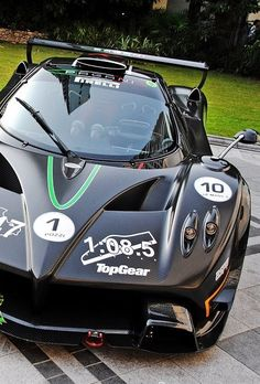 Hell yea Zonda R with the Top Gear Track record!