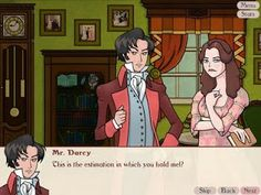 """#ilovejaneausten Jane Austen Video Game: Matches and Matrimony Austen's literary world is now available in the form of a computer game! Combining the plots of Pride and Prejudice, Sense and Sensibility and Persuasion, """"Matches and Matrimony"""" allows players to twist the story through the choices that they make throughout the game. Browsing Bookshelves: April 2011"""