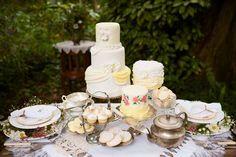 Retro Garden Party Wedding Inspiration
