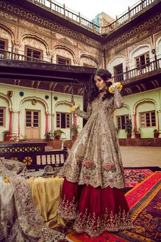 Beutifull bridal lahnga in red and gold with heavy dabka nagh pearls threds and crystals work Model 1111 Pakistan Indian Bridal Wear, Pakistani Wedding Dresses, Indian Wedding Outfits, Indian Dresses, Red Wedding, Indian Outfits, Bollywood, Desi Wedding Dresses, Wedding Suits