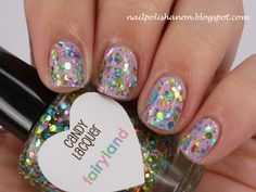 Candy Lacquer Fairyland over Picture Polish Twinkle