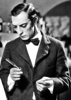 """Buster Keaton in """"Brotherly Love"""" (1928)"""