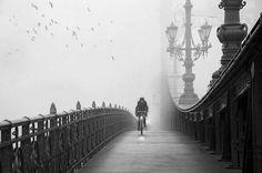 Foggy Days...,  Photo by Piroska Padar..., Budapest, Hungary.   #photography  #Blackandwhite