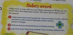 Daisy safety award