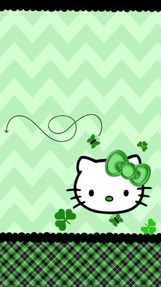 Iphone Wall St Patricks Day Tjn Hello Kitty Wallpaper with The Hello Kitty Backg. - Iphone Wall St Patricks Day Tjn Hello Kitty Wallpaper with The Hello Kitty Backg… Iphone Wall St - Summer Wallpaper Phone, Iphone Wallpaper Green, Holiday Wallpaper, New Wallpaper, Cartoon Wallpaper, Wallpaper Backgrounds, Iphone Wallpapers, Holiday Backgrounds, Glitter Wallpaper