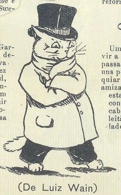 Almanaque Bertrand 1913 - 72, Luiz Wain by Gatochy, via Flickr