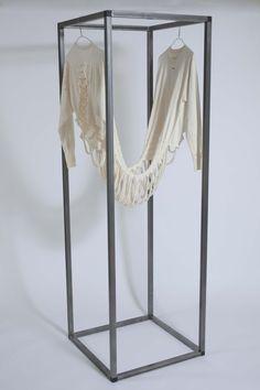""" Monologue"" Kari Anne Helleberg Bahri. textile in metal frame. Photo: Jens Hamran"