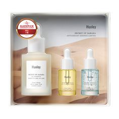 Buy Huxley Antioxidant Essence Limited Set: Oil Essence Essence-Like Oil-Like 30ml + Oil Light And More 5ml + Essence Grab Water 5ml at YesStyle.com! Quality products at remarkable prices. FREE Worldwide Shipping available!