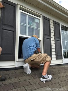 Master Window Installers At Work Replacement Home Renovation