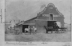J.H. Magrand Stable 200 8th St. Hays, KS -- 1884