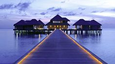 A stunning Luxury Resort in the Maldives