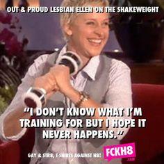 hahaha love Ellen
