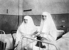 Grand Duchesses Olga and Tatiana Nikolaevna