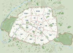 Liste der Pariser Arrondissements und Quartiers – Wikipedia