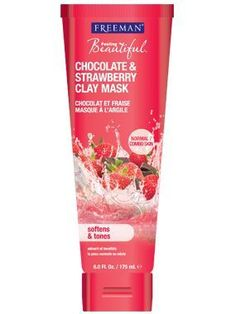 Chocolate & Strawberry Clay Mask from Freeman | Find more cruelty-free beauty @Quirkist |
