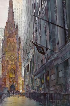 John Salminen 1945 | Abstract Cityscape malíř | Tutt'Art @ | Pittura * Scultura * Poesia * Musica |
