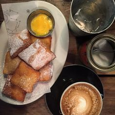Excellent start to a glorious @purenewzealand - #beignets & coffee at #Depot on Federal St. @visitauckland #yum #delicious #romance #lifewelltravelled #nz #travelgram #instafood #foodpic
