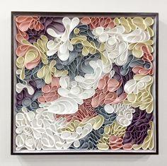canvas sculpture by hallman & stum
