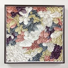 canvas sculpture by hallman & stum