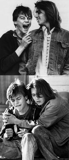 Johnny Depp and Leonardo Dicaprio in What's Eating Gilbert Grape- such a cuTe film!!!!!: