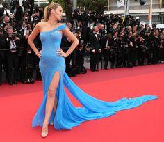 Blake Lively en robe Atelier Versace
