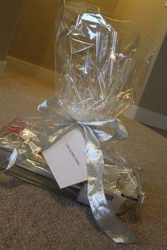 inexpensive wedding gift    DONE!  HUGE HIT!
