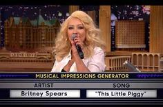 Christina Aguilera's Britney Spears Impression Will Blow Your Mind