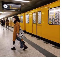 U9 🚃| #itsamatch #ubahn #berlin #lalaberlin #cos #gönndir Lala Berlin, U Bahn, Germany, City, Instagram Posts, Model, Aesthetics, Places, Inspiration