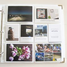 5.18.13   Saturday Project Life Blog Hop - Variety of great layouts.  Tips on white space.