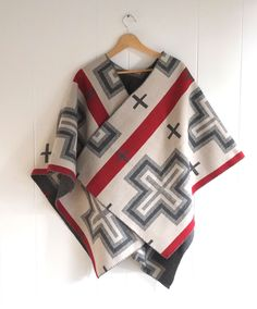 SJP Knock-Off Wool Cape Tutorial + Pendleton Fabric Giveaway! | Sew Mama Sew | Outstanding sewing, quilting, and needlework tutorials since 2005.